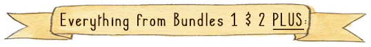 The Guinea Pig Guide bundle 3 contains everything from bundle 1 and 2 PLUS...
