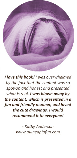 Guinea Pig Guide Testimonial - Kathy Anderson