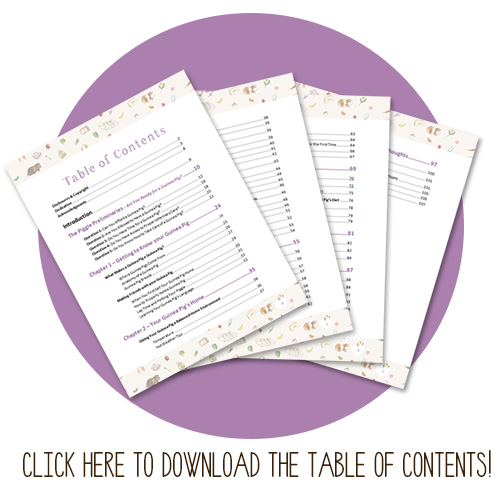 The Guinea Pig Guide table of contents
