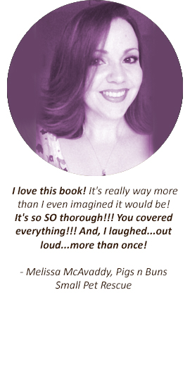 Guinea Pig Guide Testimonial - Melissa McAvaddy